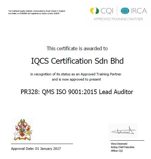 Company Profile | IQCS Certification