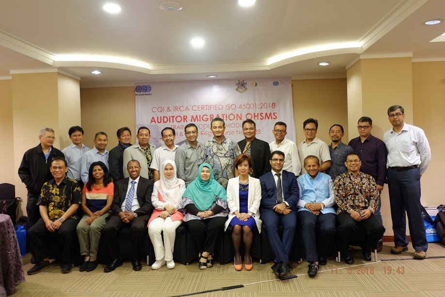 CQI & IRCA ISO 45001:2018 Auditor Migration OHSMS Training in Jakarta